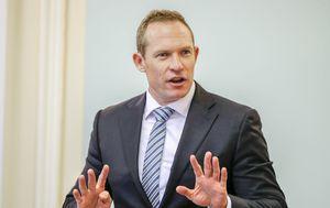 Queensland Sports Minister Mick de Brenni defends sports grants after auditor-general report