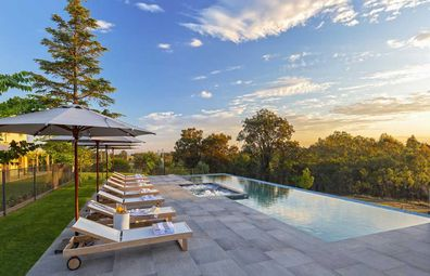 Spicers Guesthouse Hunter Valley pool