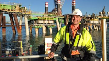 Daniel Bradshaw's dead body was found floating near the vessel he had worked on for four weeks.