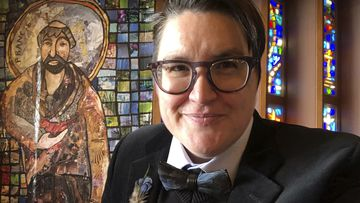 The Reverend Megan Rohrer, is the first transgender person to serve as bishop in the denomination or in any of the US' major Christian faiths.