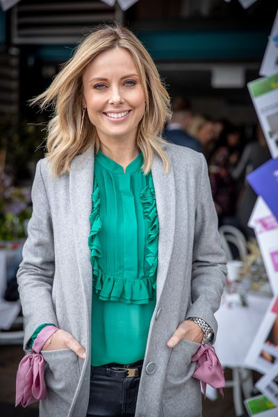 Allison Langdon at the '9Honey Turns Two' celebration held in Sydney, October 12, 2018.
