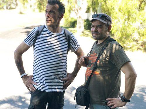 Laurent Hayez arrived in Australia on Sunday.