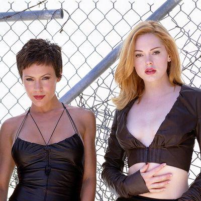 Charmed: Alyssa Milano and Rose McGowan