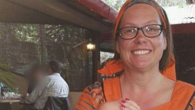 Aussie teacher on her knees when shot in Kenya