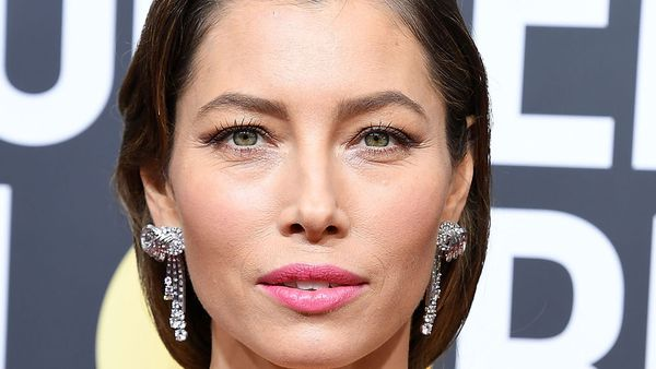 Jessica Biel at the 2018 Golden Globes Awards in Los Angeles