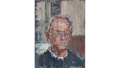 Tom Carment, Self-portrait at 60.