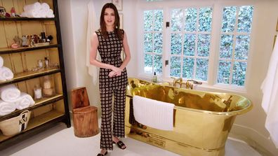 Kendall Jenner reveals she uses her gold bath tub at least three times a week.