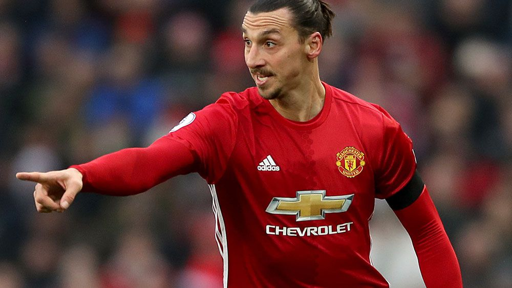Zlatan Ibrahimovic has already scored 20 goals this season. (AAP)