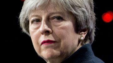 British Prime Minister Theresa May. (AP)