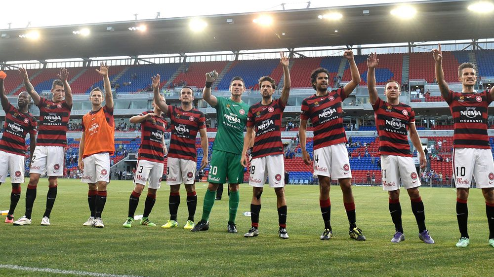 Wanderers join Roar on top of A-League