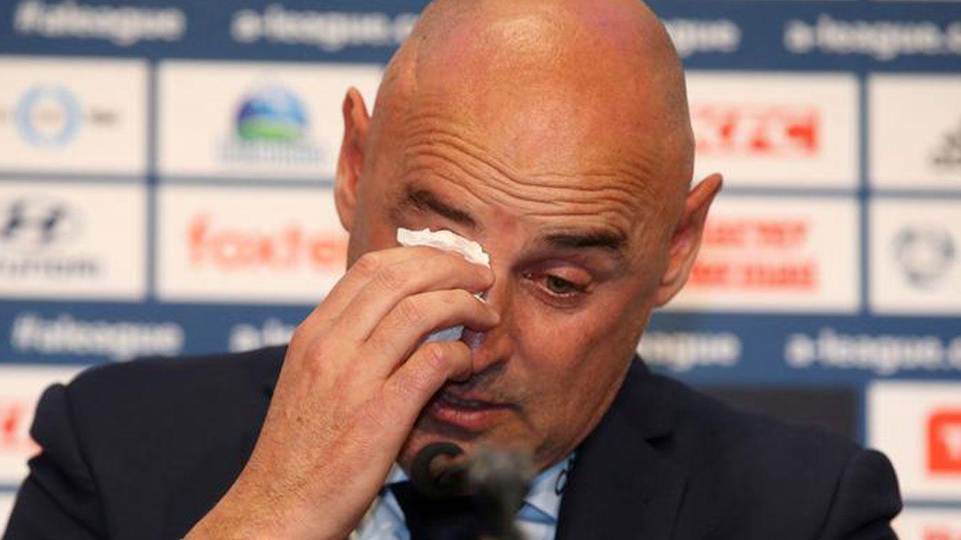 Coach Kevin Muscat announces Melbourne Victory exit