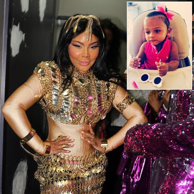 Lil' Kim's daughter Royal Reign