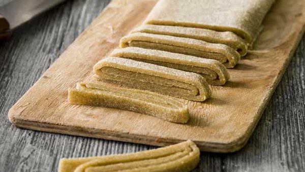 Quinoa flour pasta