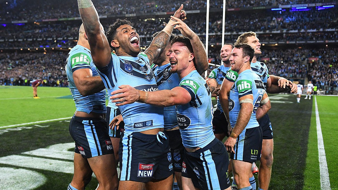 NSW Blues claim 2019 State of Origin series with final-minute James Tedesco try
