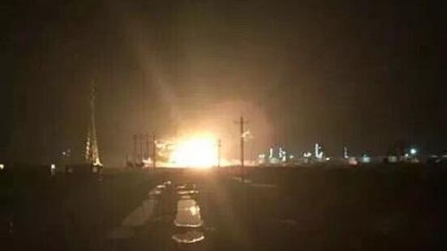 Explosion reportedly rocks second chemical plant in China