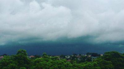 Storm clouds in Bexley. (Chris Koikas)