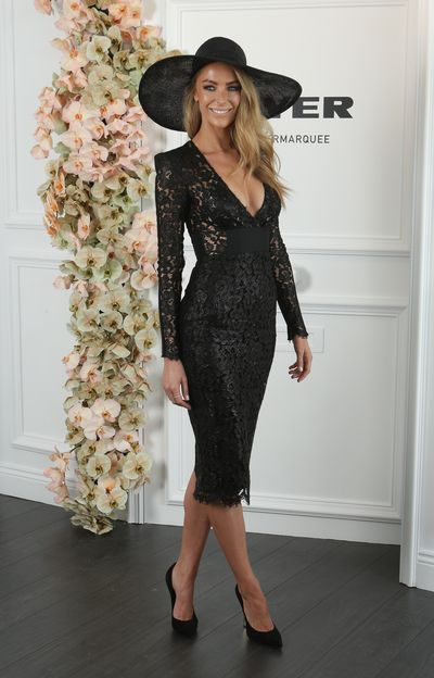 Model Jennifer Hawkins, 2014