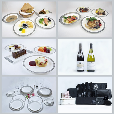 Singapore Airlines at-home dining experience
