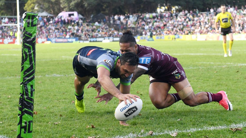Canberra winger Jordan Rapana's feats just normal now says Raiders coach Ricky Stuart
