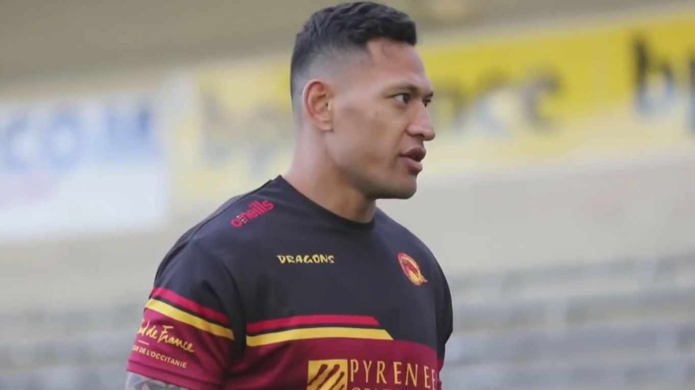 Dragons attempting to sign Israel Folau on two-year deal