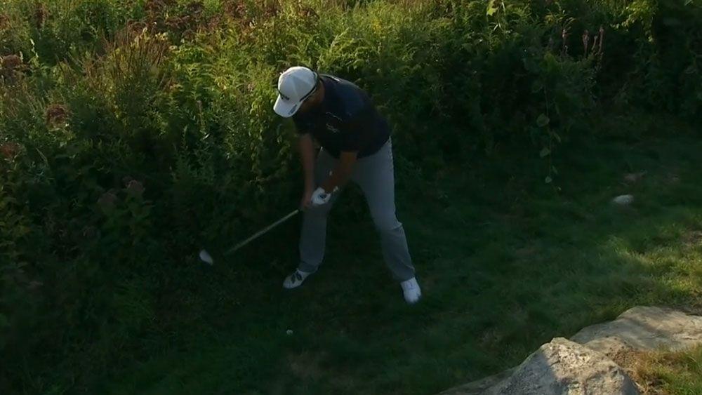 Leishman third after leading on PGA Tour