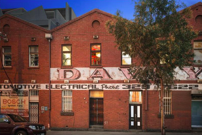 <strong>The old Allen's Lolly Factory, Melbourne</strong>