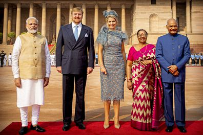 Queen Maxima and King Willem-Alexander of the Netherlands on royal tour to India