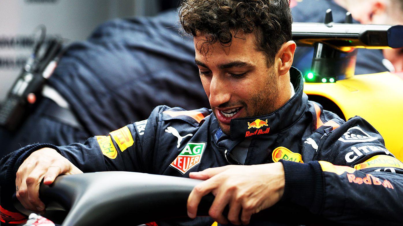 Red Bull Racing's Daniel Ricciardo leads the way in Azerbaijan Grand Prix F1 practice