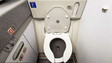 The camera was allegedly installed in the Southwest Airline's toilet and livestreamed to the cockpit.