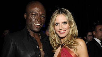 Seal, Heidi Klum, Golden Globe awards post-party, The Beverly Hilton, January 16, 2011