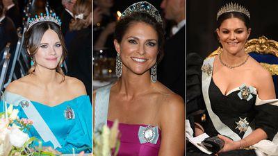 Swedish royals attend Nobel Prize Ceremony, December 2019