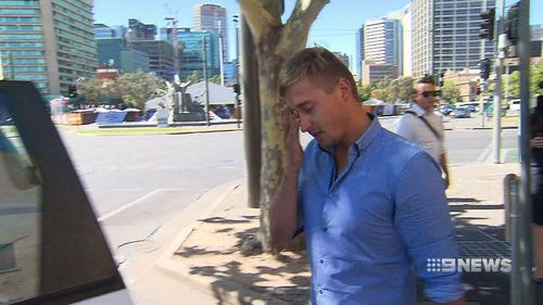 Mr Norman sobbed as he walked from court today.