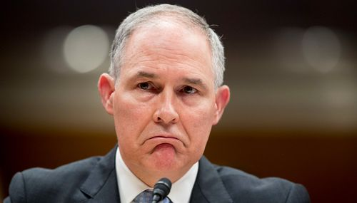 He's shown a willingness to stick with someone amid public scandals if he's otherwise happy with the job they're doing. That's how Scott Pruitt, the former EPA administrator, hung on for months despite a growing list of investigations into possible abuse of his power.