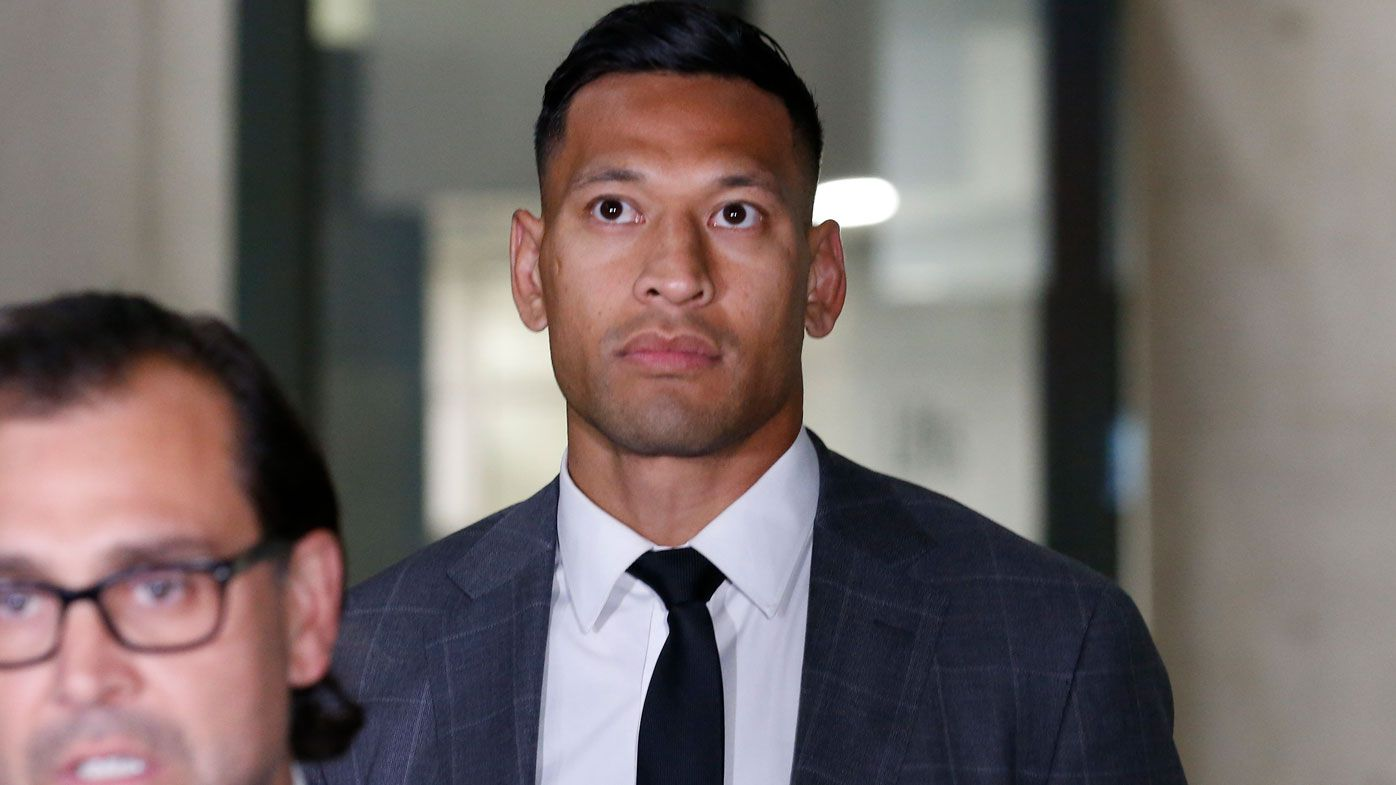 Super League CEO unhappy at Israel Folau Catalans Dragons signing