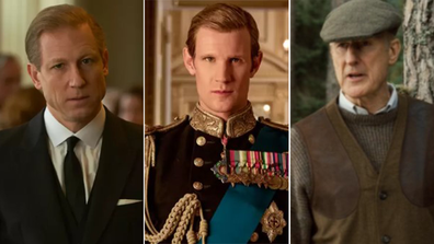 Actors, played Prince Philip, Duke of Edinburgh TV, movies, James Cromwell, Tobias Menzies, Matt Smith