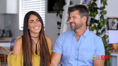 Meet the firey Block newlyweds determined to win: Sara Tumino and Hayden Vale
