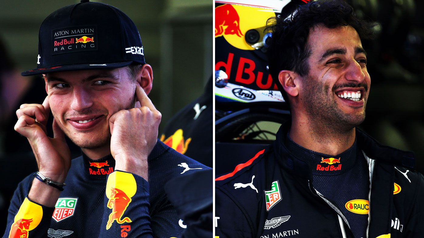 Verstappen and Ricciardo