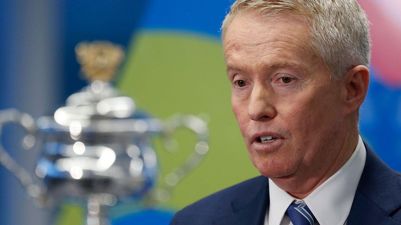 Australian Open boss Craig Tiley returns serve at disgruntled tennis stars