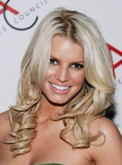 Jessica Simpson at The Accessories Council's 9th Annual ACE Awards Gala in New York, November, 2009