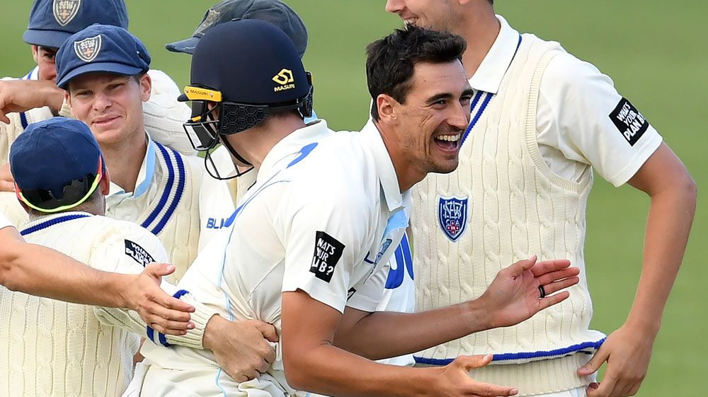 Starc takes second hat-trick