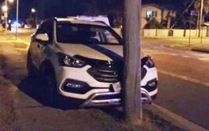 Man allegedly chases teenagers in stolen car, ending in high-speed crash