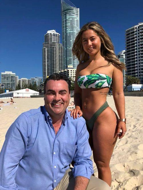 Mr Costigan found himself in hot water last year when he celebrated World Bikini Day.