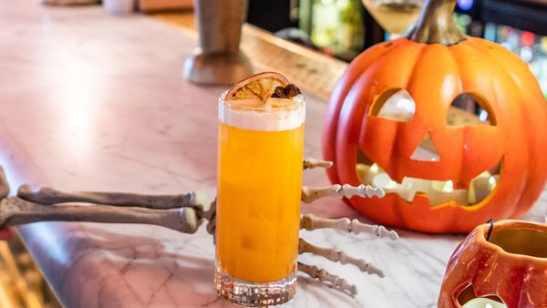 Smith and Wollensky's Pumpkin Punch