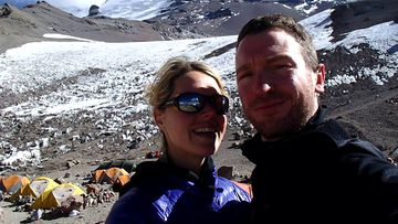 Melbourne couple Maria Strydom and husband Rob Gropels. Source: AAP