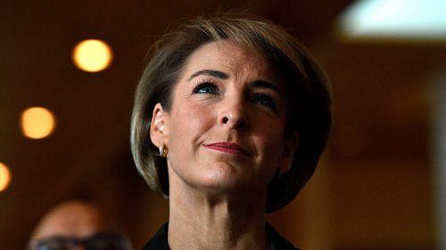 Michaelia Cash will head a new Jobs and Innovation portfolio. (AAP)