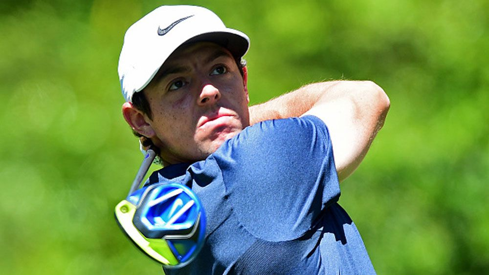 """Rory McIlroy says the Olympic golf tournament """"pleasantly surprised"""" him. (AAP)"""