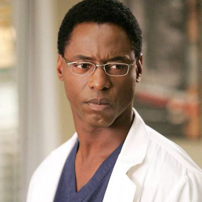 Isaiah Washington as Preston Burke: Then