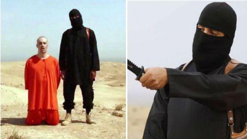 Jihadi John with US journalist James Foley.