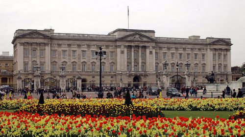 Man arrested after climbing Buckingham Palace gate