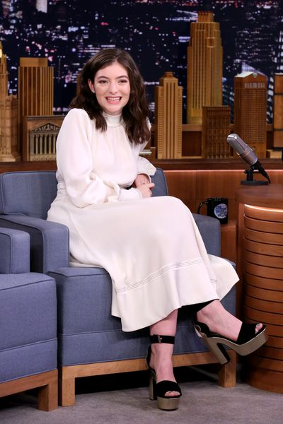 Lorde on The Tonight Show With Jimmy Fallon in June.